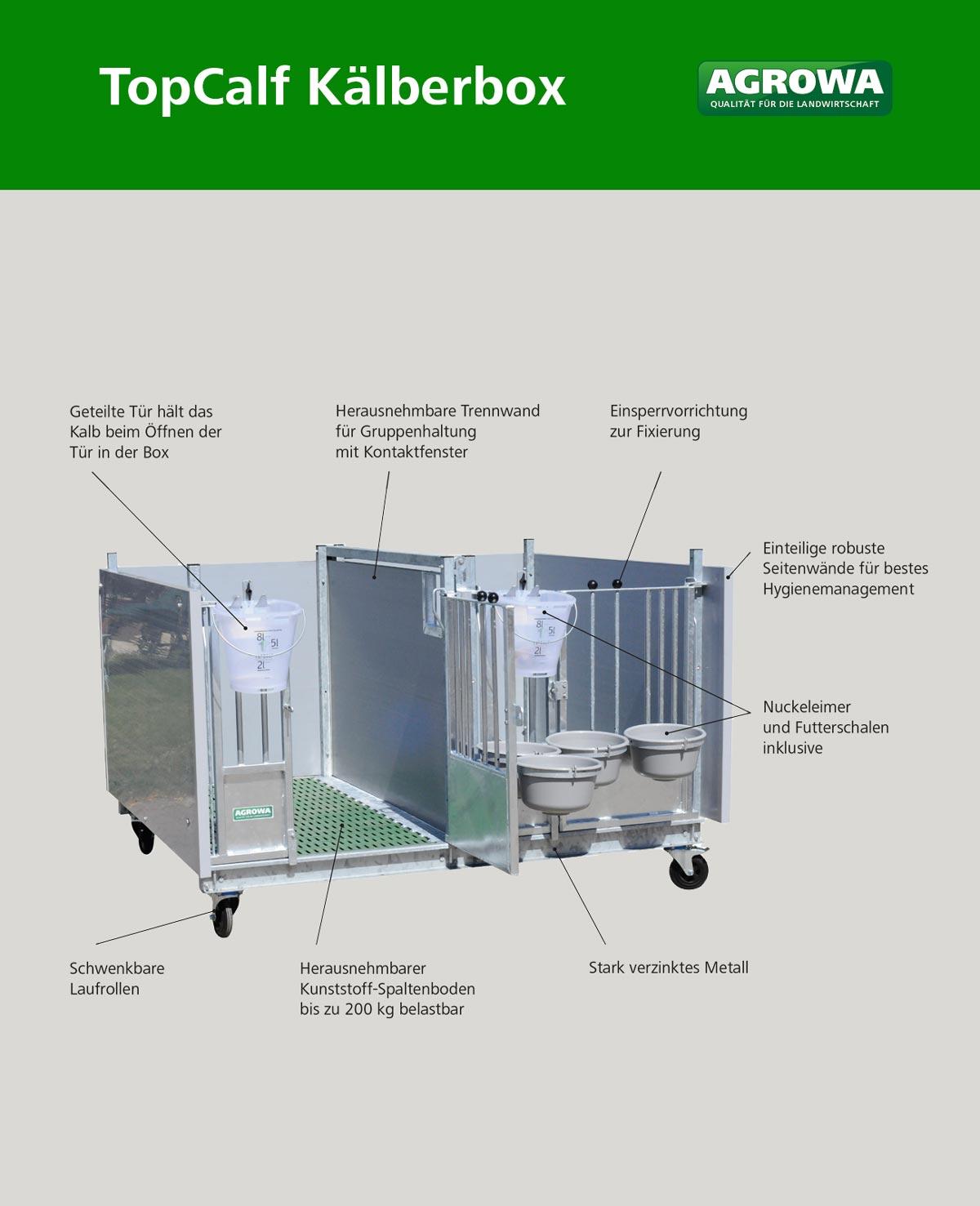 Schaubild 2 Kälberbox TopCalf AGROWA