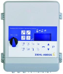 Automatische Klima Steuerung Regler von Ziehl-Abegg. Vertrieb Dr. Knopf & Oswald GmbH