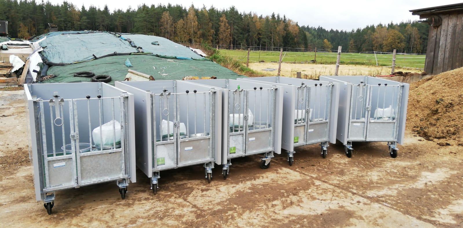 Mobile Kälberboxen TopCalf - Dr. Knopf & Oswald GmbH
